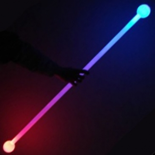 Juggle-Light LED Thick Staff - 'Multi-Light' - 140 cm
